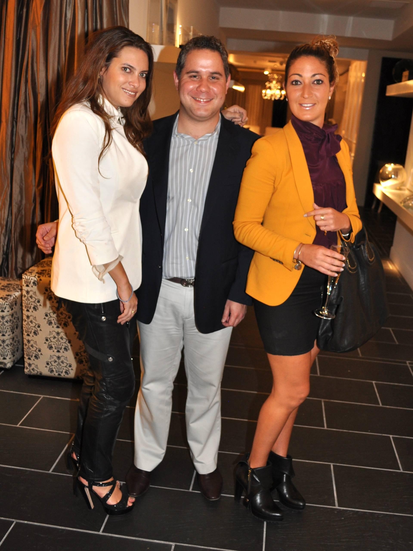 Jilian Sanz, Luis Rigual & Sarah Mirmelli