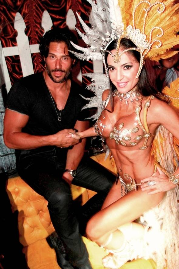 Haute Event: Joe Manganiello Judges the Sexiest Costume Contest at Surrender Nightclub