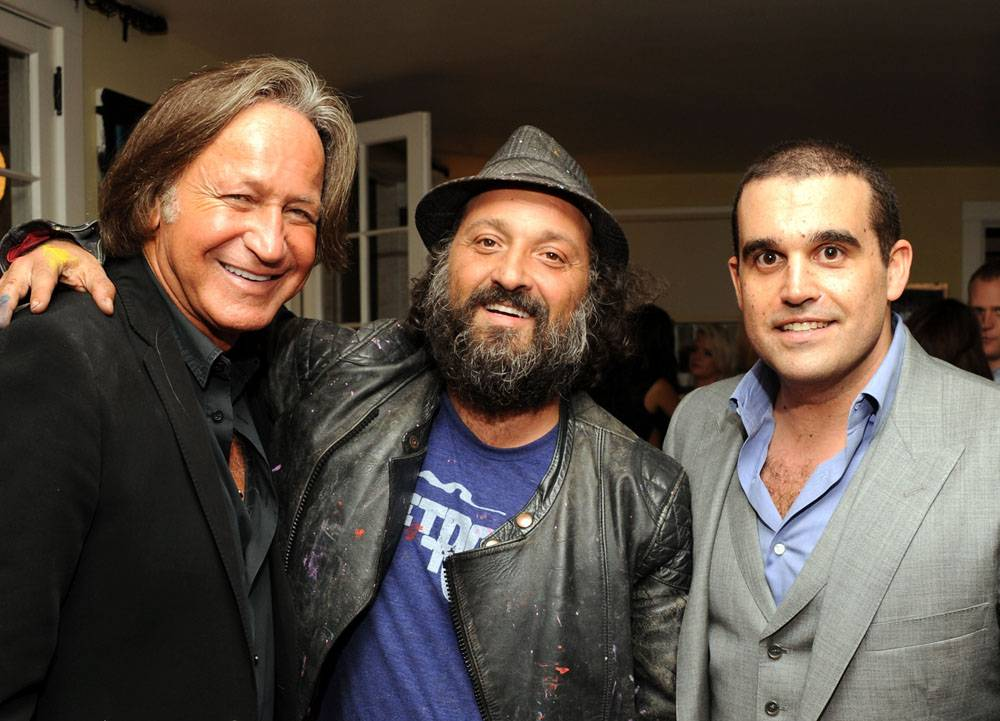 MOHAMED HADID, MR. BRAINWASH AND SETH SEMILOF