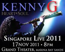 Marina Bay Sands Presents Kenny G Live