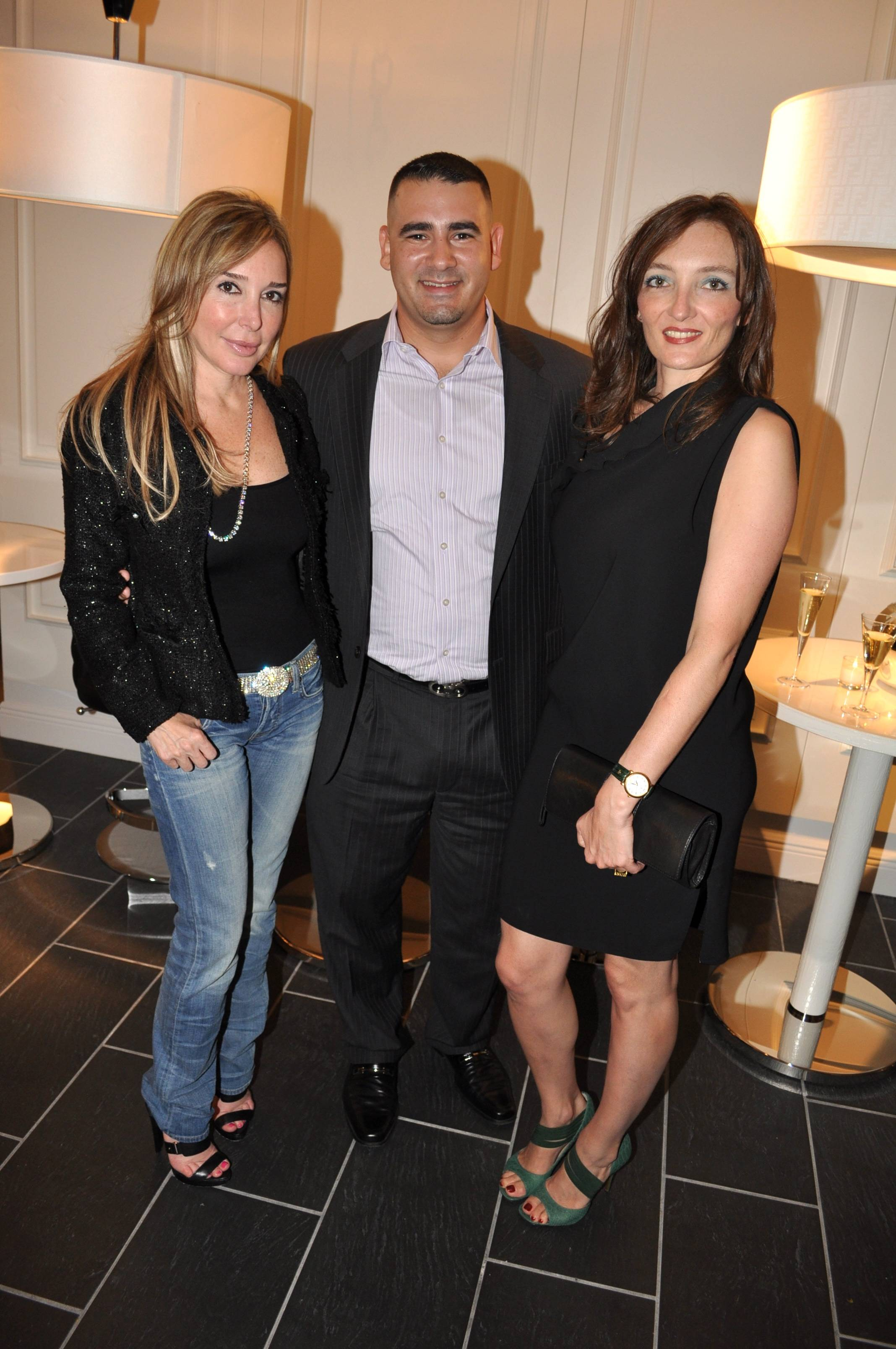 Marysol Patton, Nelson Echevarria & Bettina Bamberger