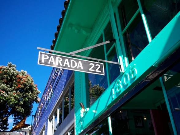 Would You Prefer A Pair Of Prada's Or Eat At Parada 22?