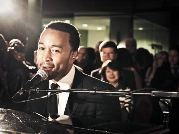 Private  Concert  with Grammy-winning musician John Legend at the NEW Delta Sky360° Club at Madison Square Garden.