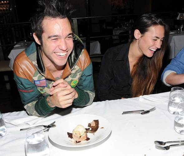 Haute Event: Pete Wentz and His New Girlfriend Meagan Camper Spotted at the Hard Rock Hotel