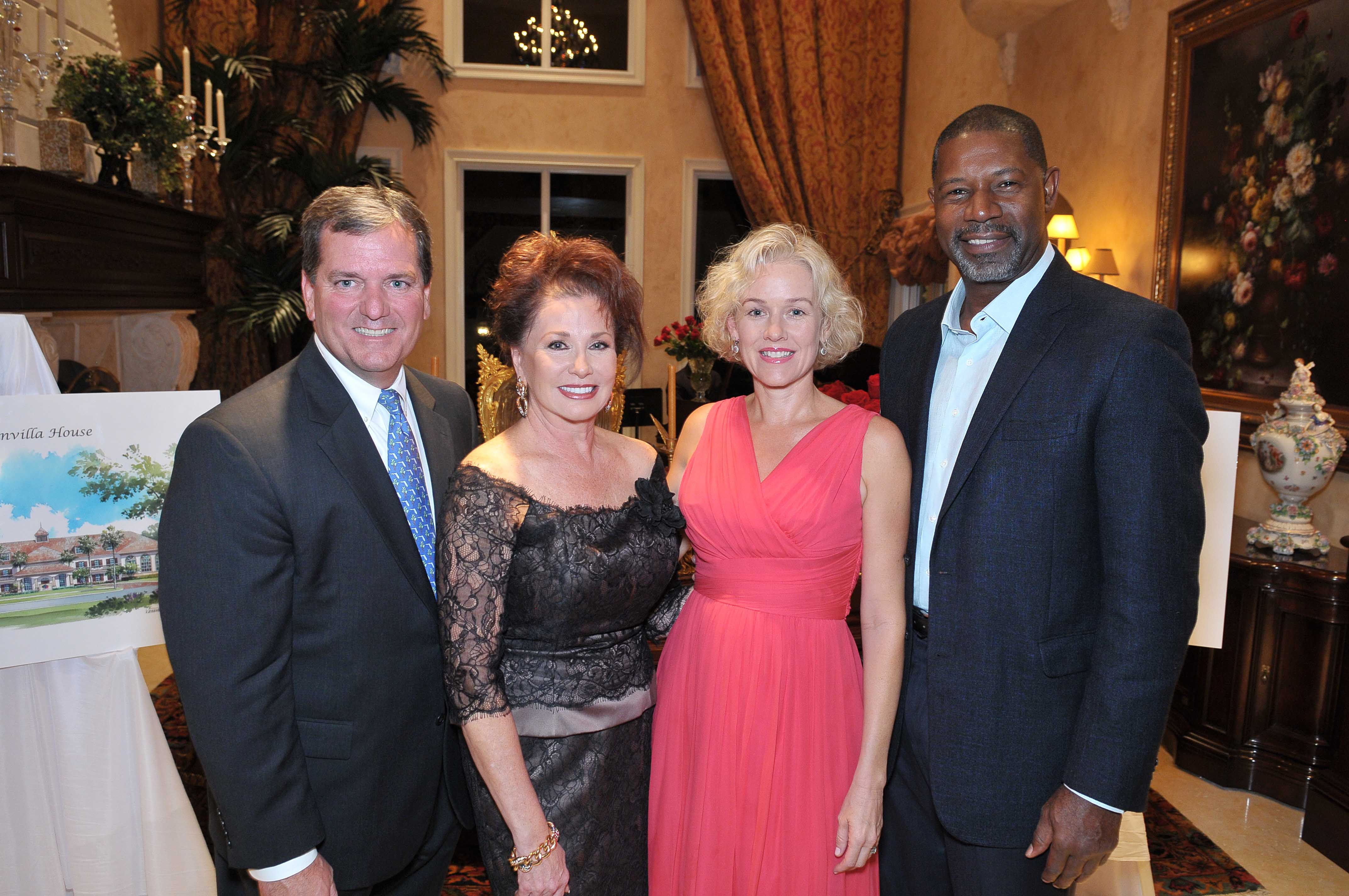 THE BOUGAINVILLA HOUSE HOSTED EXCLUSIVE KICK-OFF CELEBRATION WITH CELEBRITY GUESTS PENELOPE ANN MILLER, DENNIS HAYSBERT AND BEAU BRIDGES