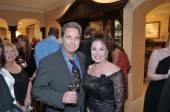 Actor Beau Bridges and Janet Davis, President & CEO of The Bougainvilla House