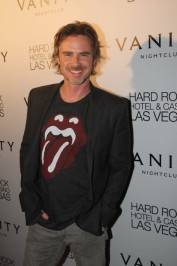 Sam Trammell walks the red carpet at Vanity Nightclub. Photo by Hew Burney.