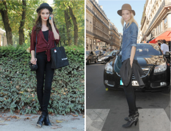 Steal Their Style: Model Street Fashion at Paris Fashion Week