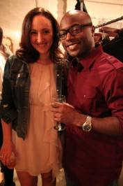 Stylist Hellin Kay and Damu Bobb of CNN
