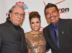 Edward James Olmos, Eva Longoria and George Lopez