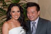 """America's Got Talent"" soprano vocalist Barbara Padilla and ""Entourage"" actor Rex Lee"
