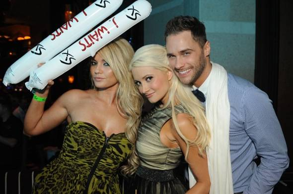 Haute Event: Jesse Waits Celebrates His Birthday with Pete Wentz, Joel and Benji Madden, Angel Porrino, Holly Madison, Frankie Delgado and More at XS