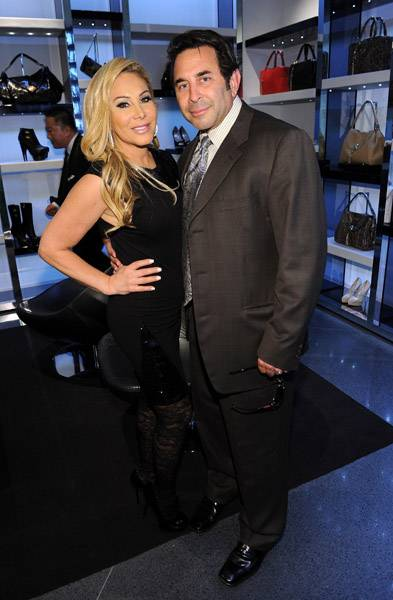 Adrienne Maloof-Nassif and Dr Paul Nassif