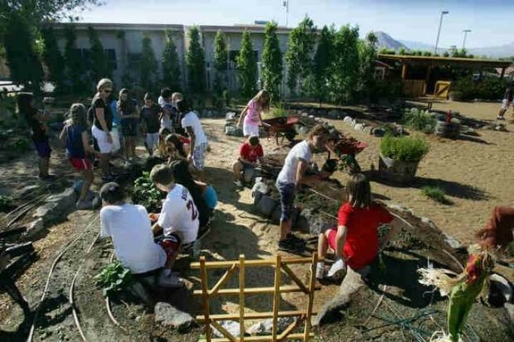 Haute 100 Update: Oracle CEO Larry Ellison Funds and Installs Garden for Elementary School Students