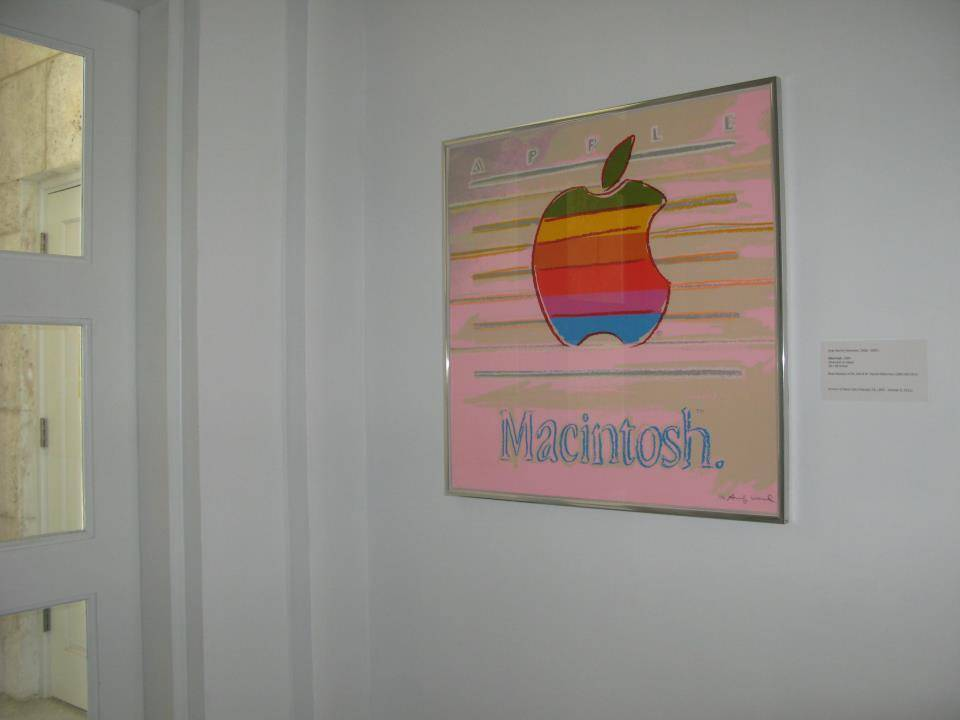"Bass Museum Pays Tribute to Steve Jobs with Display of Andy Warhol's ""Apple"""