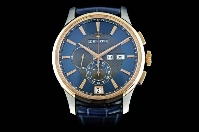 "Zenith Launches Limited Edition ""Captain Winsor"" Annual Calendar Chronograph Exclusively at Westime"