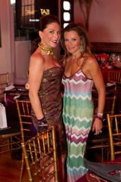 Stefanie Roumeliotes and Cross Marketing PR CEO Claudia Castillo Ross