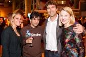 Laura Ciekot, Arash Ferdowsi, Zach Bogue, Marissa Mayer