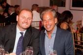 amfAR CEO Kevin Frost and Restoration Hardware CEO Gary Friedman