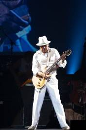 Carlos Santana performs at The Joint.