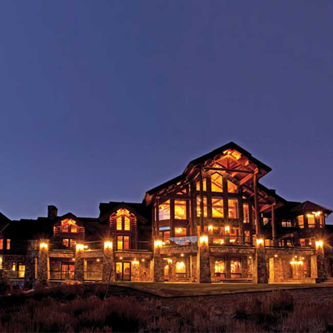 TROPHY LODGES: HAND HEWN LOG ESTATE