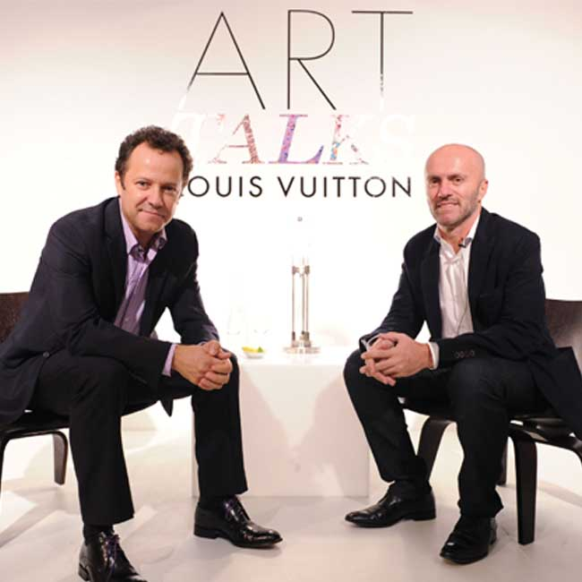 AudemarSponsoredTime__0029_Vik Muniz & Gringo Cardia at Louis Vuitton Art Talks with Vik Muniz