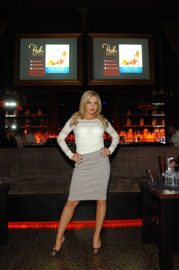 Bree Olson hosts Goddess Party at POSH