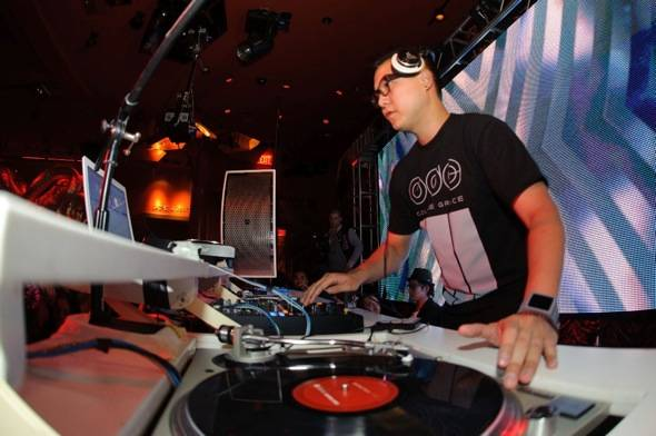 Haute Event: Lil Jon Welcomes Vegas Spin-Off DJ Competition Winner at Surrender