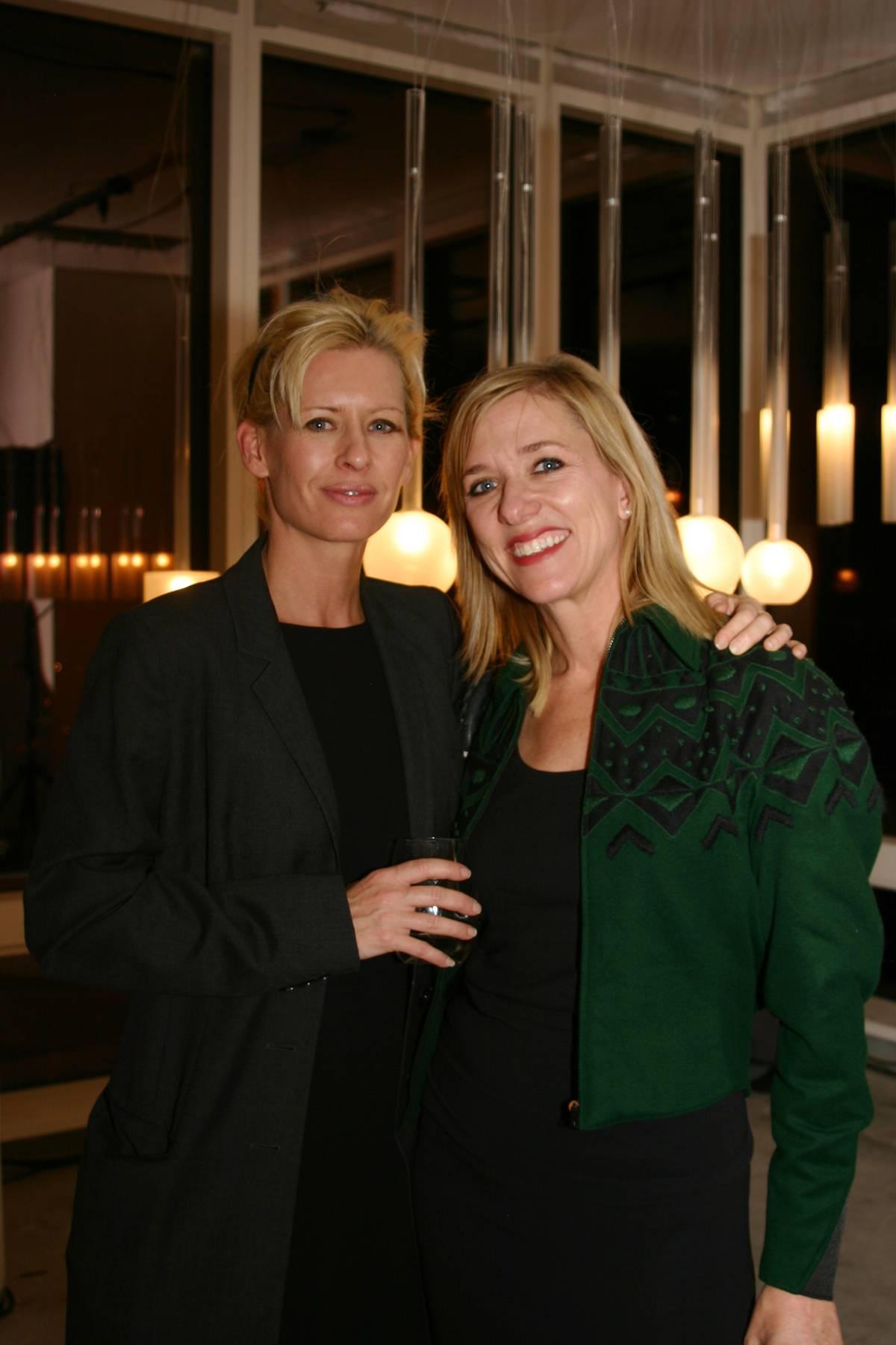 Designer Larissa Sand and Dwell Founder Lara Deam