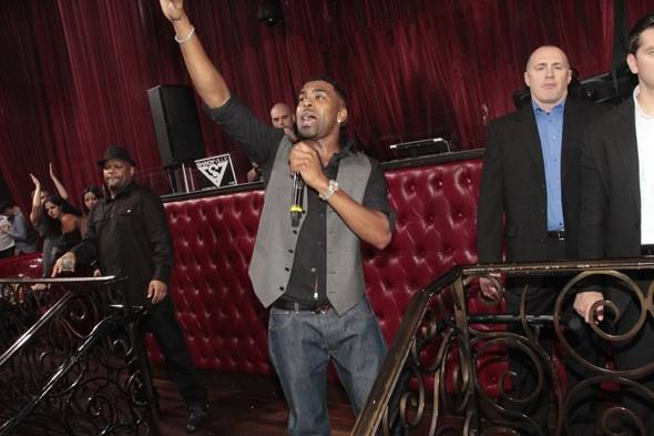 Haute Event: Ginuwine Performs at LAX Nightclub