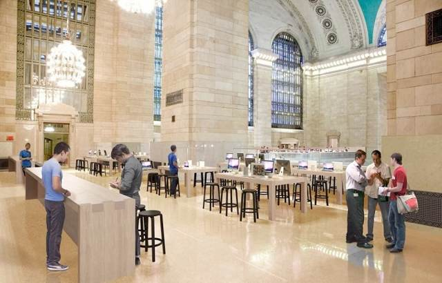 Grand Central Apple Store Moves Closer to Opening