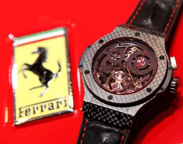 Hublot Big Bang Ferrari Tourbillon Celebrates 20th Anniversary of first Ferrari in China