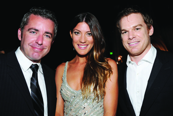 Jason Jones, Jennifer Carpenter, Michael C. Hall