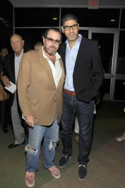 Julian Schnabel and Rachid Benzine