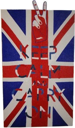 KEEP CALM BRITISH UNION JACK 2