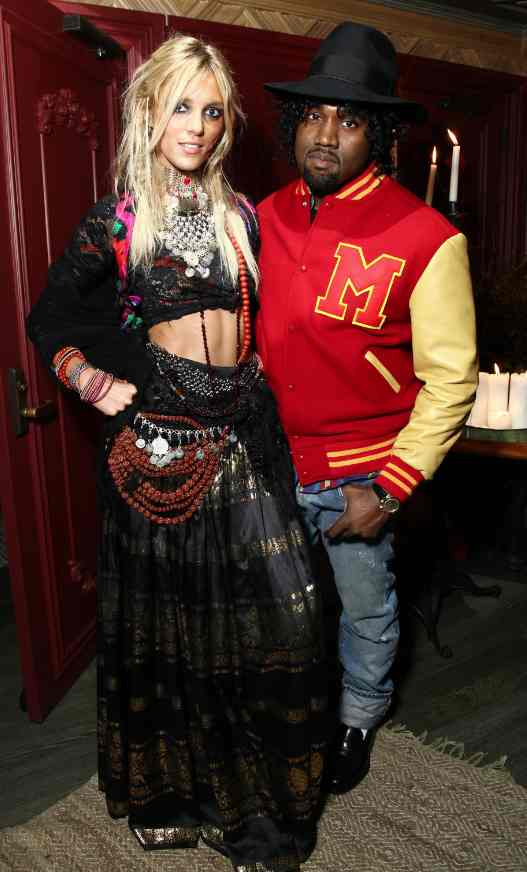Haute Halloween Party At The Darby With Kanye West, Anja Rubik and Beyonce