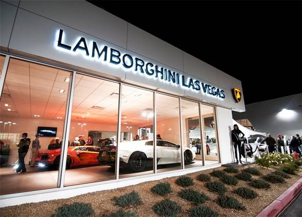 Lamborghini Las Vegas Celebrates New Showroom and Arrival of New Aventador LP 700-4