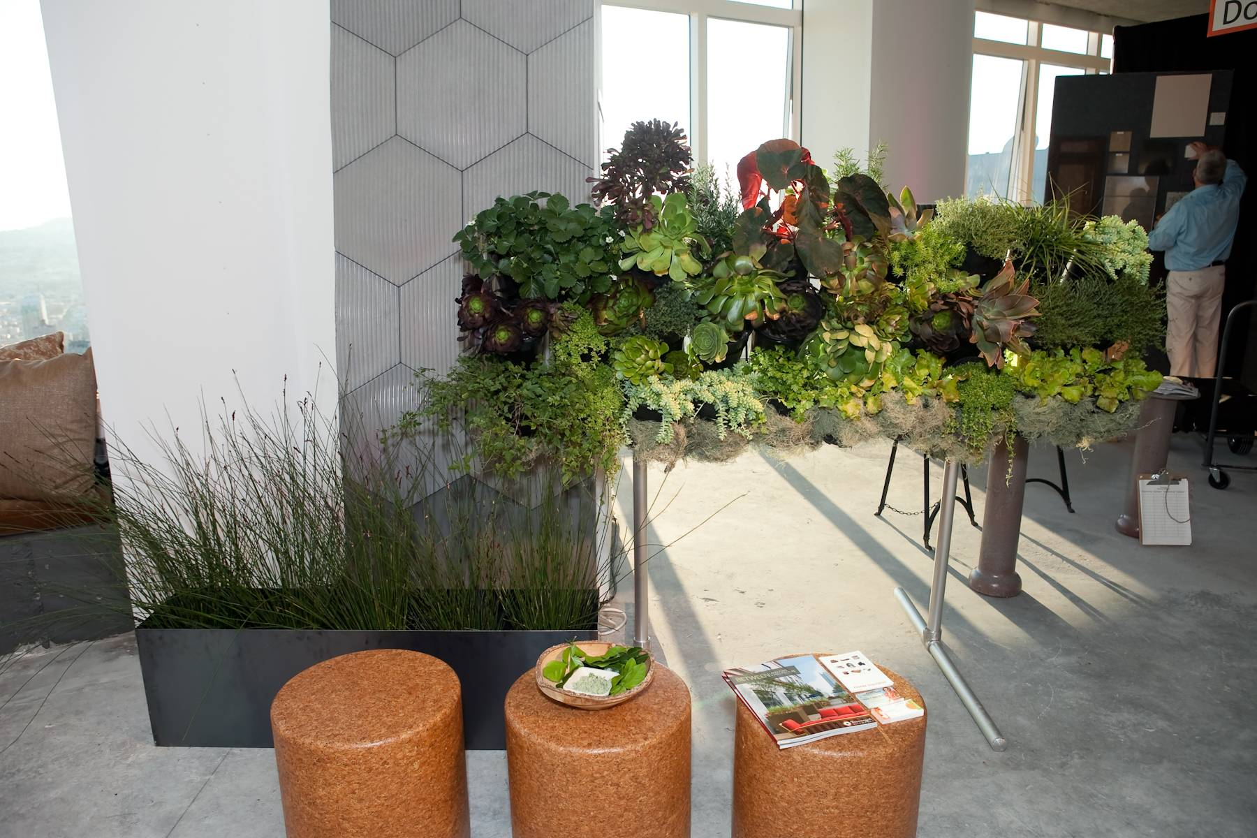 Living Wall by Kellee Adams and Dig-it Lanscape Design