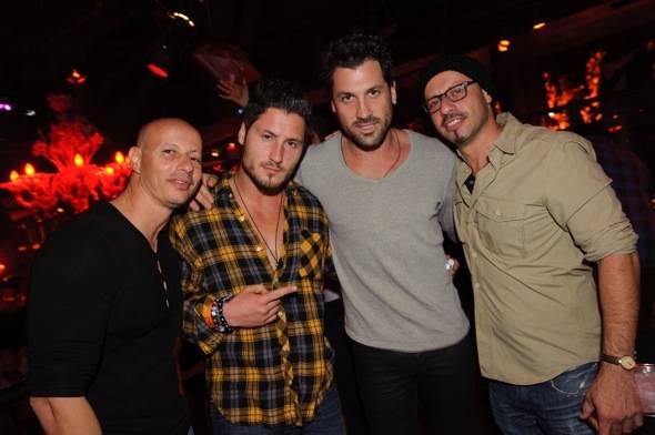 Haute Event: Pauly Shore Hosts the Terminate the Turkey Party at Tao with Maksim Chmerkovskiy on Hand