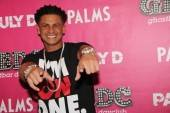Pauly D walks the red carpet at GBDC.