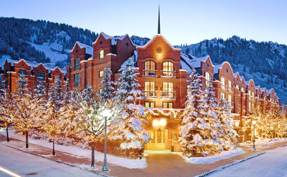 The St. Regis Aspen Resort is a Skier's Dream