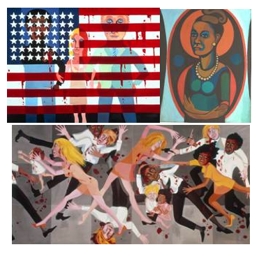 Miami Art Museum Opens Exhibition of Faith Ringgold's Paintings