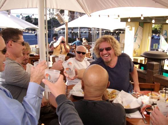 Haute Event: Sammy Hagar Dines at His Cabo Wabo Cantina