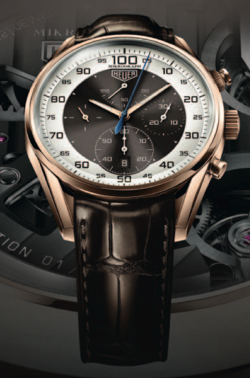 TAG HEUER CARRERA MIKROGRAPH 1/100TH SECOND CHRONOGRAPH AVAILABLE AT DEJAUN JEWELERS