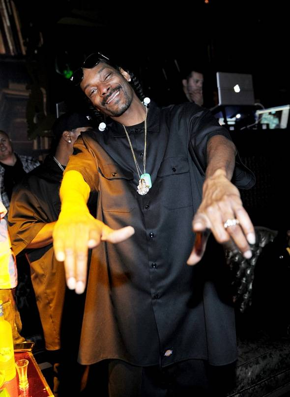 Haute Event: Snoop Dogg Hosts a Post-Concert Party at Gallery Nightclub