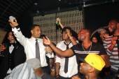 Trey Songz celebrates his birthday at Lavo.