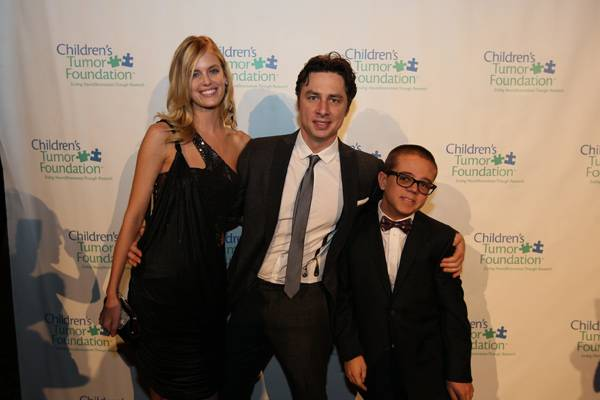 Haute Event: The Children's Tumor Foundation Annual Benefit Dinner With Zach Braff