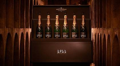 Moet et Chandon Auctioning Inspiring Champagne