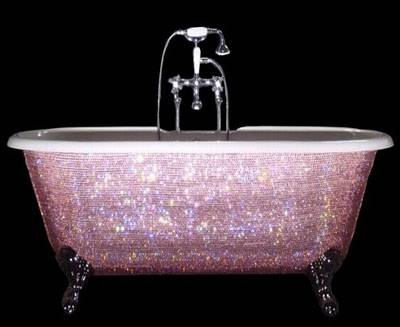 Beyonce and Jay-Z's Swarovski-Studded $5,200 Baby Bathtub
