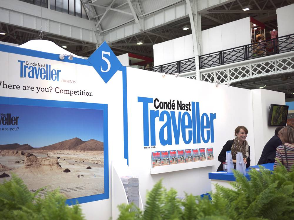 Conde Nast's Luxury And Travel Fair